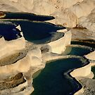 Pumakkale Pools by KerryPurnell