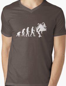 Evolution of Ock Mens V-Neck T-Shirt