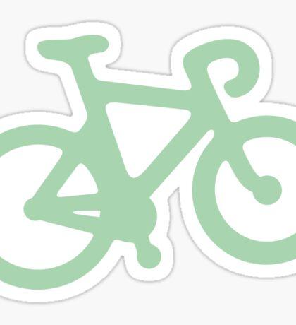 Mint Simple Bike Sticker