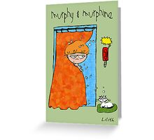 Murphy & Murphine - The awaited call Greeting Card