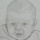 Baby portrait by Sue Downey