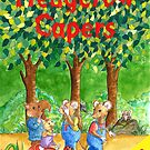 Hedgerow Capers Book Cover by Corrina Holyoake