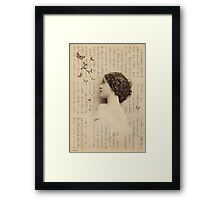 Hope & Butterflies Framed Print