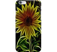 Sunflower Fractilius iPhone Case/Skin