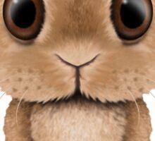 Cute Baby Bunny Dj Wearing Headphones Sticker