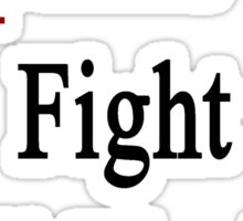 Egyptians Will Fight Until The End  Sticker