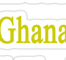 I Will Protect Ghana Until The End  Sticker