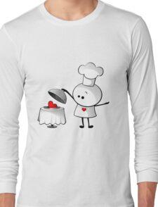 Cute Chef Long Sleeve T-Shirt
