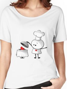 Cute Chef Women's Relaxed Fit T-Shirt