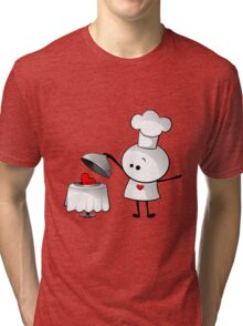 Cute Chef Tri-blend T-Shirt