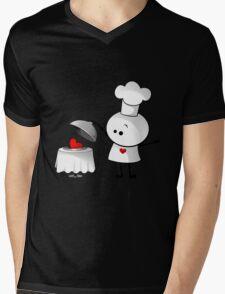 Cute Chef Mens V-Neck T-Shirt