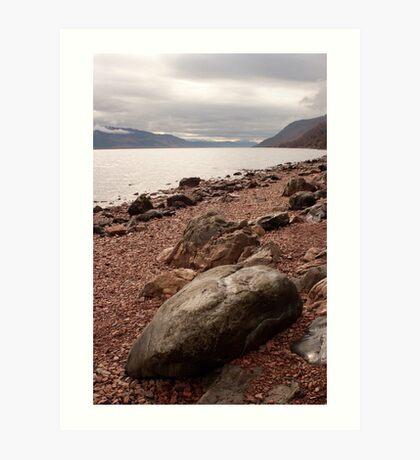 Morning over Loch Ness Art Print