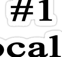 #1 Vocalist  Sticker