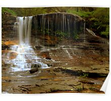 Weeping Rock Falls Poster