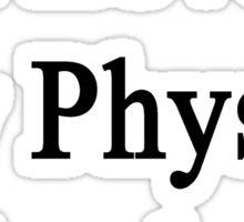 I Love My Physics Teacher  Sticker