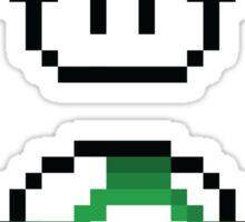 Mushroom (8-bit) Sticker