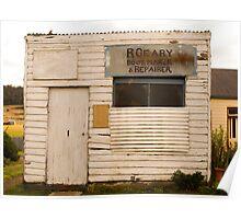 Boot Repair Shop, Oatlands Poster