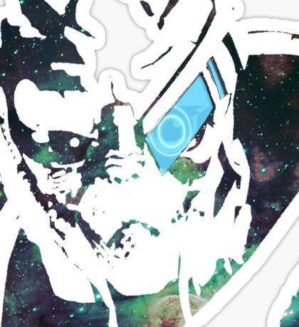 Space Garrus  Sticker