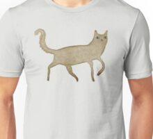 Suspicious-Looking Moggy Unisex T-Shirt