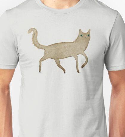 Suspicious-Looking Moggy Unisex T-Shirt