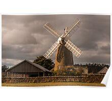 Oatlands Flour Mill Poster