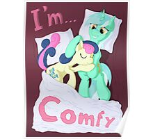 We're ... Lyra and Bonbon Poster
