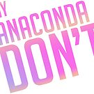 Anaconda Text Only by SuperFluff