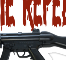zombie repellent Sticker