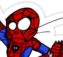Spider-chat Sticker