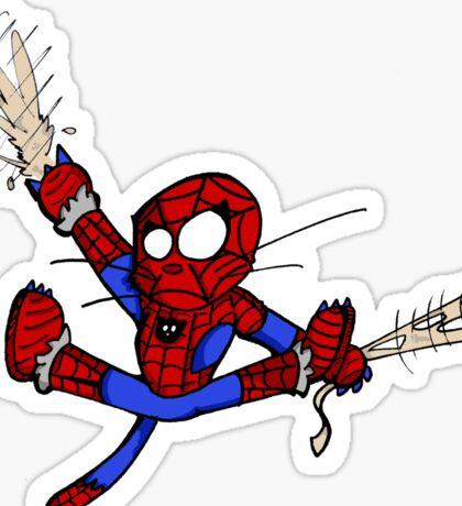 Spider-chat Sticker