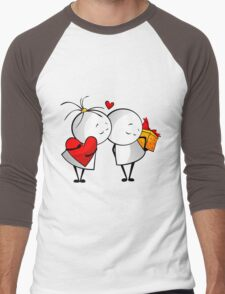 Friends Forever Men's Baseball ¾ T-Shirt