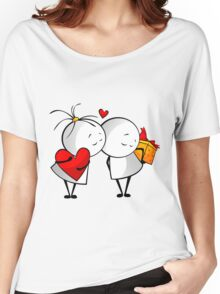 Friends Forever Women's Relaxed Fit T-Shirt
