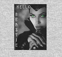 Hello Beastie Womens Fitted T-Shirt