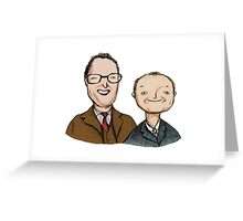 Vic & Bob Greeting Card