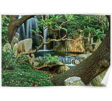Japanese Gardens. Poster