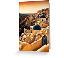 Oia, Santorini Greeting Card
