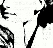 Audrey Hepburn pn07 Sticker