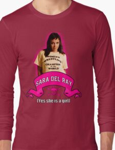 Yes She Is A Girl Long Sleeve T-Shirt