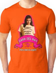 Yes She Is A Girl Unisex T-Shirt