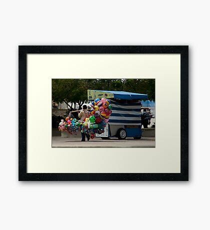 Mexican Toy Vendor Framed Print