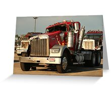 Truck 7941 Greeting Card