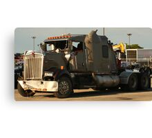 Truck 7942 Green Canvas Print