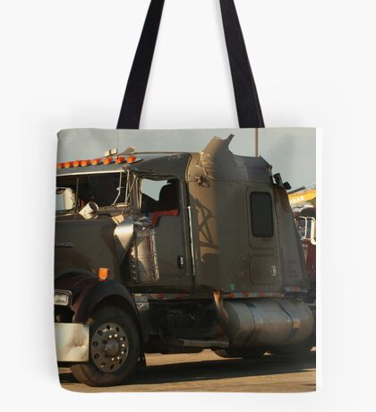 Truck 7942 Green Tote Bag
