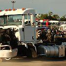 Truck 7946 White by Thomas Murphy