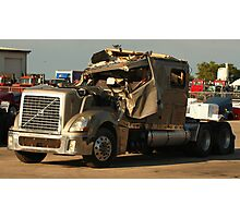 Truck 7949 Green Photographic Print
