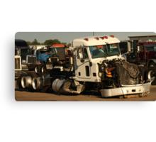 Truck 7952 White Canvas Print