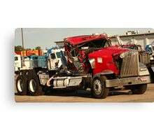 Truck 7953 Red Canvas Print