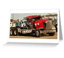 Truck 7953 Red Greeting Card