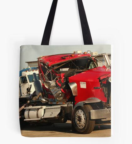 Truck 7953 Red Tote Bag