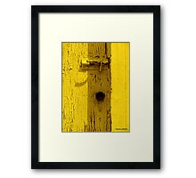Best Interest Framed Print